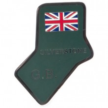 Silverstone Circuit Enamelled Badge