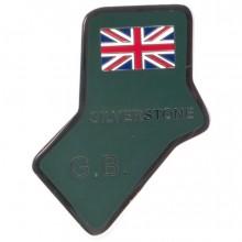 Silverstone Circuit Enamelled Badge