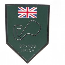 Brands Hatch Enamelled Adhesive Badge