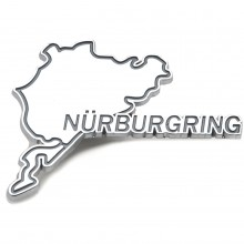 Nurburgring Chromed Adhesive Badge