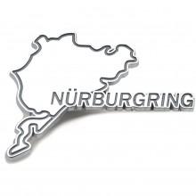 Nurburgring Chromed Adhesive Badge