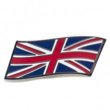 Union Jack Enamelled Adhesive Badge