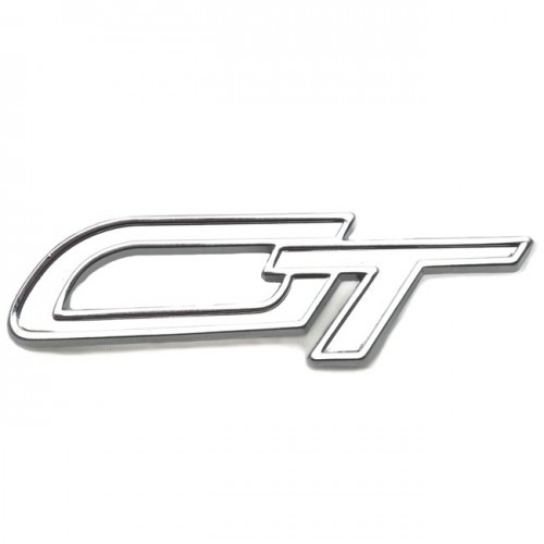 GT Badge - Chrome image #1