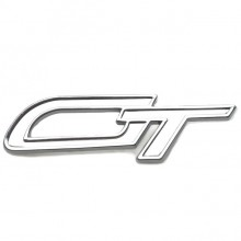 GT Badge - Chrome