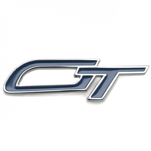 GT Badge - Chrome and Blue image #1