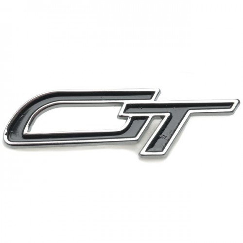 GT Badge - Chrome and Black image #1
