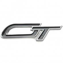 GT Badge - Chrome and Black