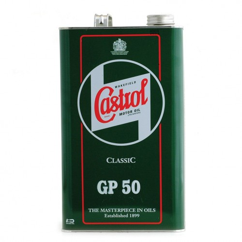 Castrol Classic Engine Oil - GP50 SAE50 (1 Gallon) image #1