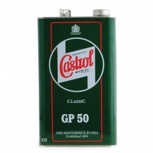 Castrol Classic Engine Oil - GP50 SAE50 (1 Gallon)