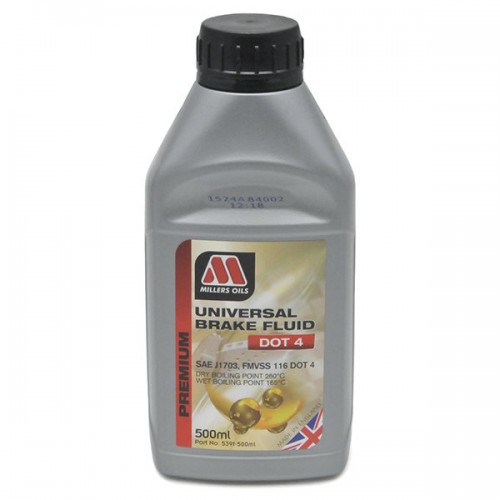 Millers Universsal Brake Fluid Dot 4  500ml image #1