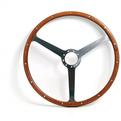 Aston Martin DB4/5/6 16in Steering Wheel - Black Spokes image #1