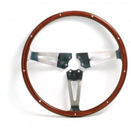 AC Cobra Orignal Type 15in Wood Rim Steering Wheel