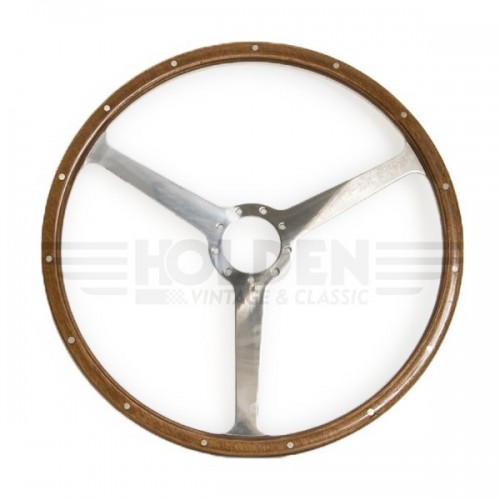 Aston Martin DB4/5/6 16in Steering Wheel - Polished Spokes image #1