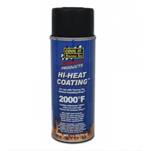 Hi-Heat Coating - Black