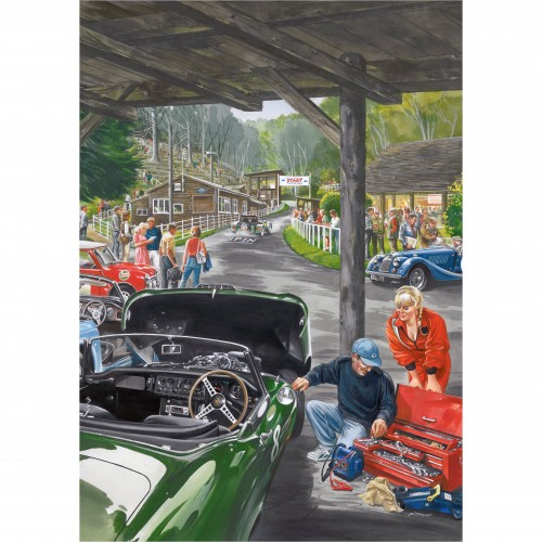Shed at Shelsley laminated poster image #1