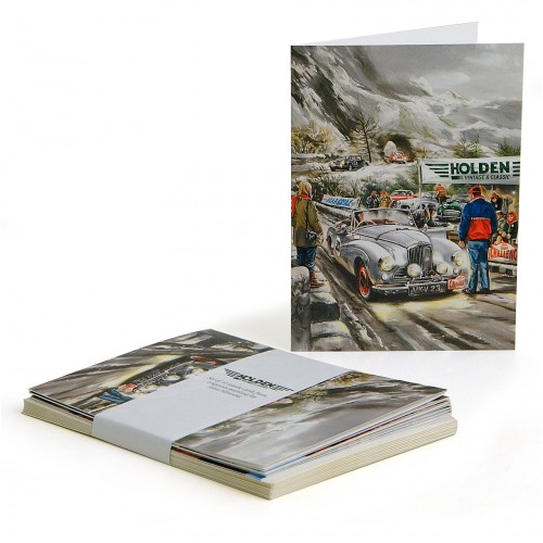Sunbeam on Alpine Rally Blank Cards (set of 10) image #1