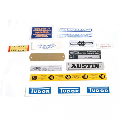 DECAL KIT AUSTIN HEALEY  BN7-BJ8 image #1