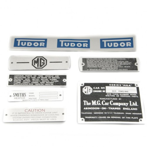 DECAL KIT MGA ROADSTER 1955-62 image #1