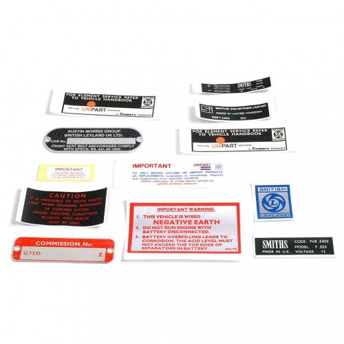 DECAL KIT MGB GT V8 image #1