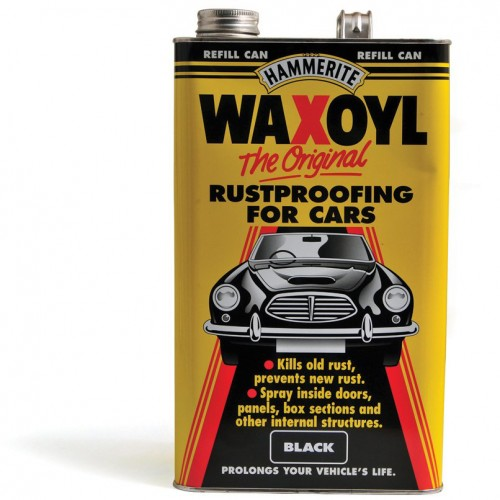 Waxoyl 5 Litre Refill Can - Black image #1