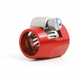 Hose Clip/Finisher 1/4 in (Red)