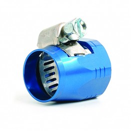 Hose Clip/Finisher 5/16 in (Blue)