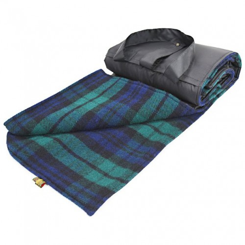 Travel/Picnic Rug - Black Watch image #1