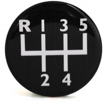 Decal for Gear Knobs 5 Speed