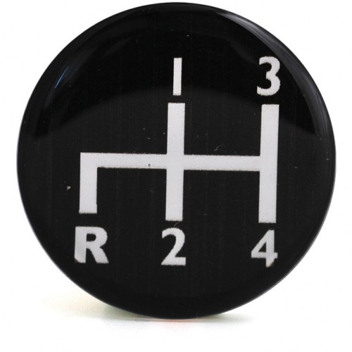 Decal for Gear Knobs 4 Speed image #1