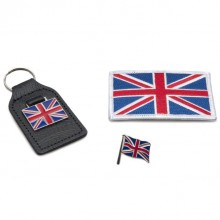 Union Jack Badge Set