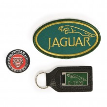BADGE SET JAGUAR E TYPE