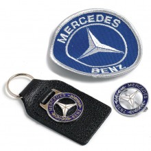 Mercedes Badge Set