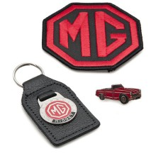 BADGE SET MG MIDGET