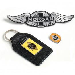 Morgan Key Fob and Badge Set