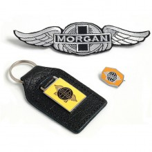 Morgan Key Fob and Badge Set