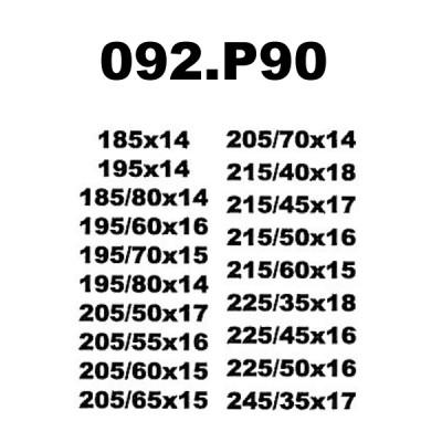 Snow Chain 9mm - Size P90