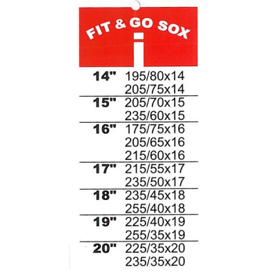 Fit and Go Snow Sox - Size I