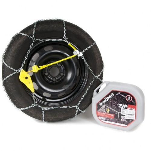 Snow Chain Zip Ultra 9mm - Size ZU104