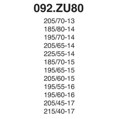 Snow Chain Zip Ultra 9mm - Size ZU80