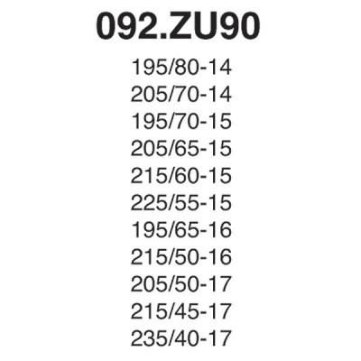 Snow Chain Zip Ultra 9mm - Size ZU90