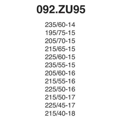 Snow Chain Zip Ultra 9mm - Size ZU95