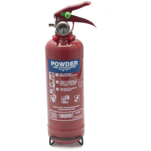 Fire Extinguisher - Hand Held Dry Powder ABC 600g image #1