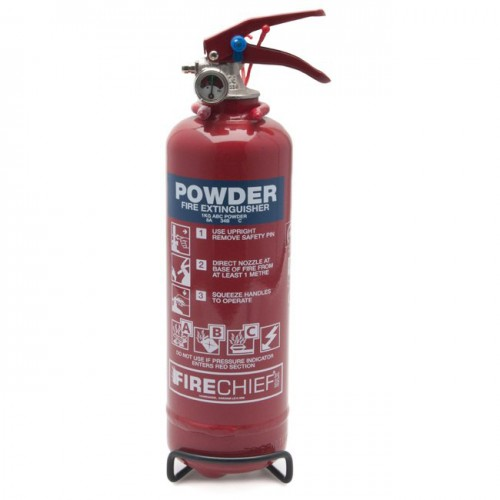 Fire Extinguisher - Hand Held Dry Powder 1 kg image #1