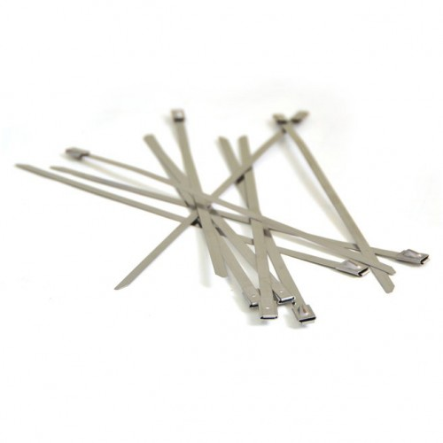 Stainless Steel Locking Ties - 200mm long (Pack of 10) image #1