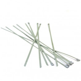 Stainless Steel Locking Ties - 360mm long (Pack of 10)