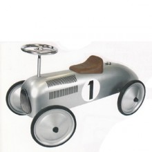 Walk Along Car suits 1-3 year olds - Silver