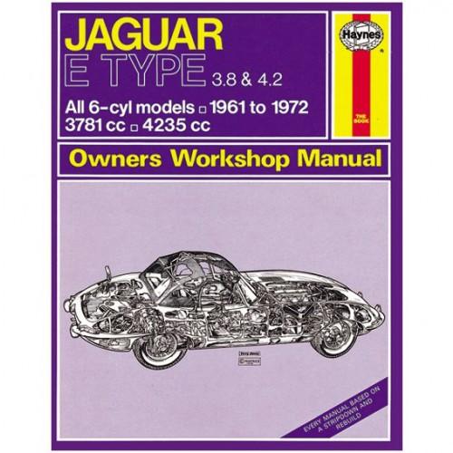 Jaguar E Type 6 Cylinder Haynes Manual image #1
