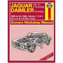 Jaguar/Daimler XJ 6 cylinder Haynes Manual