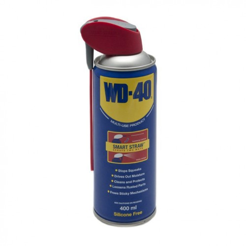 WD40 Smart Straw Lubricant Spray Can (400ml) image #1