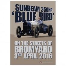 Bluebird 350HP Poster